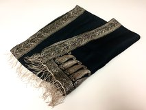 *REDUCED* Black and Gold Table Runner in Okinawa, Japan
