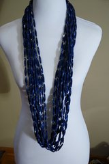 CHICO'S BLUE 13-STRAND NECKLACE in Lakenheath, UK