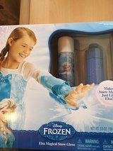 New Elsa magical snow glove in Ramstein, Germany