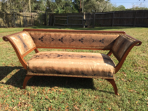 Old Victorian Settee in Saint Petersburg, Florida