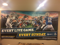 NFL Banner in Glendale Heights, Illinois