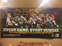 NFL Sunday Ticket Banner in Glendale Heights, Illinois