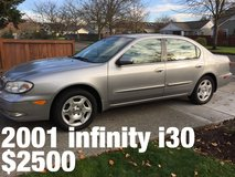 2001 infinity i30 sedan excellent condition in Fort Lewis, Washington