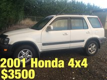 2001 Honda CR-V 4x4 in Fort Lewis, Washington