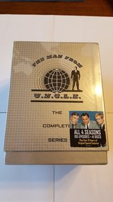 """""""NEW"""" The Man From U.N.C.L.E. Complete Series New In Box Still Shrink Wrapped 41 Discs in Macon, Georgia"""