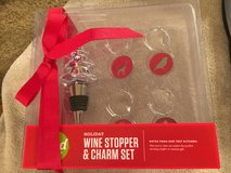 New Wine Stopper & Charm Set in Bolingbrook, Illinois