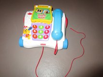 Fisher Price Telephone w/Animal Friends Phone Book, Counting & Songs in Vista, California