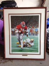 UGA Sugar bowl national champions framed print in Warner Robins, Georgia