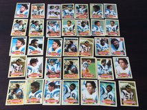 Chargers Cards 1979 season in Wiesbaden, GE
