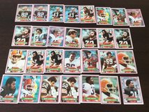Browns Cards (1979 Season - with Ozzie Newsome x2) in Wiesbaden, GE