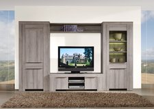 Entertainment Wall Unit - Emar - in Elephant Grey or Dark Grey - monthly payments possible in Cambridge, UK