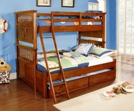 Triple Sleeper Bunk Bed also as regular Bunkbed - US Sizes - monthly payments possible in Cambridge, UK