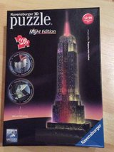 "Ravensburger 3D Puzzle Night Edition "" Empire State Building "" in Stuttgart, GE"
