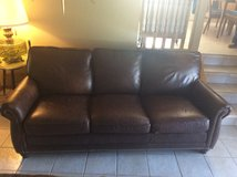 Leather Sofa in Bellevue, Nebraska