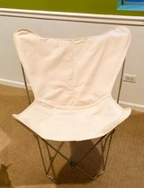 Butterfly Chair - ivory in Naperville, Illinois