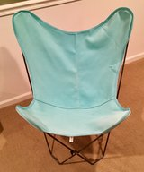 Butterfly Chair - Blue in Naperville, Illinois