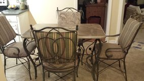 Granite top table & 4 chairs in Perry, Georgia