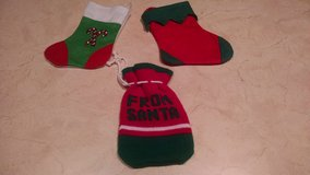 3 Small Christmas Stockings in Joliet, Illinois