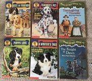 Magic treehouse books and Puppy Patrol in Morris, Illinois