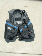 SCUBA Tusa Liberator Buoyancy Compensator + in Travis AFB, California