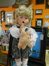 Doll with Teddy Bear in Cherry Point, North Carolina