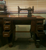 White Rotary Tredal Sewing Machine in Vacaville, California