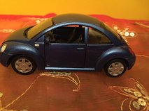 Maisto Volkswagen New Beetle Diecast Car Scale 1/37 Pull Back Action in Morris, Illinois
