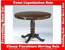 Signature Design by Ashley Leahlyn Cherry Round Dining Table D436 in Great Lakes, Illinois
