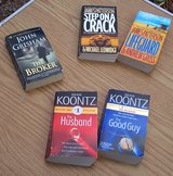 Grisham, Patterson & Koontz - 5 Books Total in Alamogordo, New Mexico