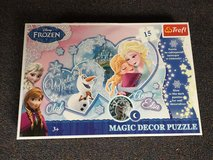 Magic frozen puzzle in Ramstein, Germany