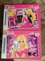 Barbie puzzles in Ramstein, Germany