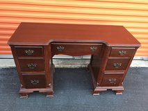 Duncan Phyfe Desk/Vanity Mahogany in Cherry Point, North Carolina