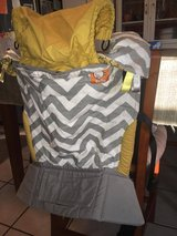Like New, Tula Ergonomic Baby/Toddler Carrier - Gray Zig Zag (with matching drool pads) $100 in Warner Robins, Georgia