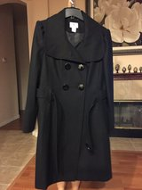 Black pea coat in Travis AFB, California