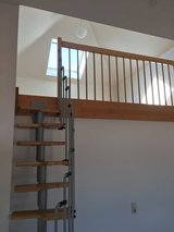 modern 2-3 bedrm-apartment with loft, carport, garage and basement in Enkenbach close to all in Ramstein, Germany