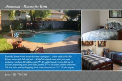 Rooms for Rent in Kingwood, Texas