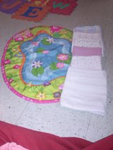 Play mat and receiving blankets in Fort Campbell, Kentucky