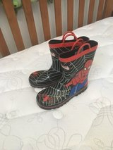 Spider-Man rain boots size 13/1 in Kingwood, Texas