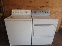 TOP OF THE LINE KENMORE MATCHING WASHER AND DRYER, WRINKLE FREE FABRIC in Mayport Naval Station, Florida