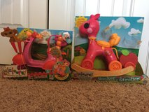 Reduced New Lalaloopsy RC Scooter & Lalaloopsy Rocker 'n' Stroller in Macon, Georgia
