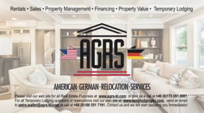 American German Relocation Services in Ramstein, Germany