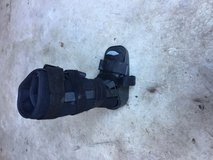 medical boot comes with free crutches. in Houston, Texas