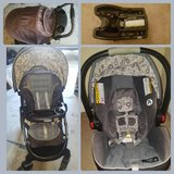 Infant carseat and stroller in Temecula, California