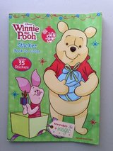 Winnie the Pooh Coloring Book + 35 stickers in Yorkville, Illinois
