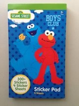 Sesame Street Boys Club Sticker Pad in Yorkville, Illinois