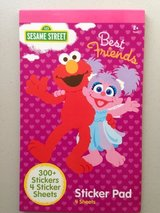 Sesame Street Best Friends Sticker Pad in Yorkville, Illinois