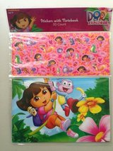 Dora the Explorer 30 ct. Stickers w/ Notebook in Sugar Grove, Illinois