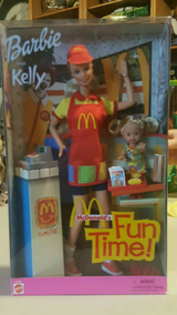 Barbie&Kelly McDonalds Fun Time in Fairfield, California