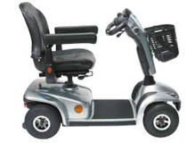 Handicap Scooter Invacare 4 wheel with battery pack LEO Model in Honolulu, Hawaii