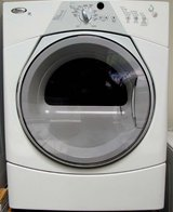 FRONT LOAD WHIRLPOOL DUET GAS DRYER WITH WARRANTY in Oceanside, California